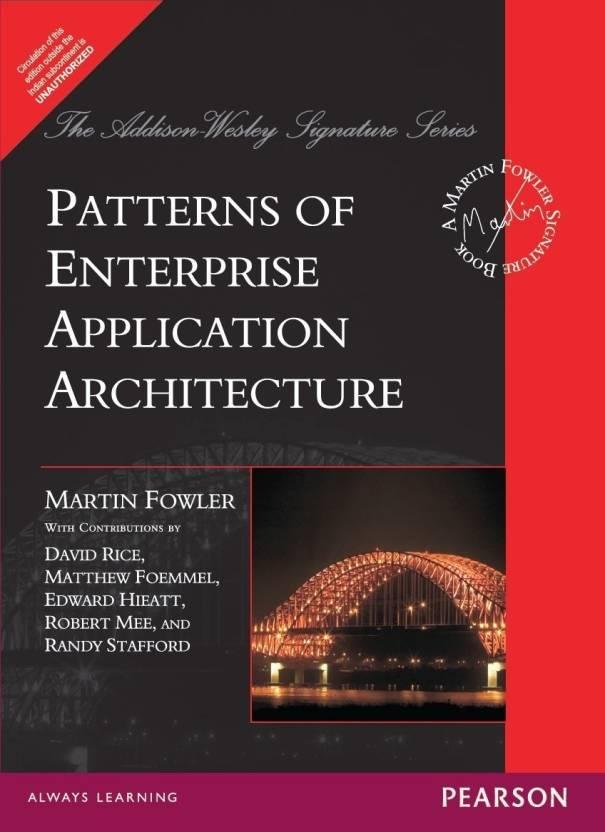 Patterns Of Enterprise Application Architecture Buy Patterns Of Gorgeous Patterns Of Enterprise Application Architecture
