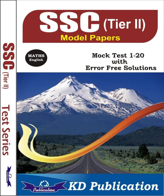 SSC Tier II Model Papers Maths 2nd Edition - Buy SSC Tier II Model ...