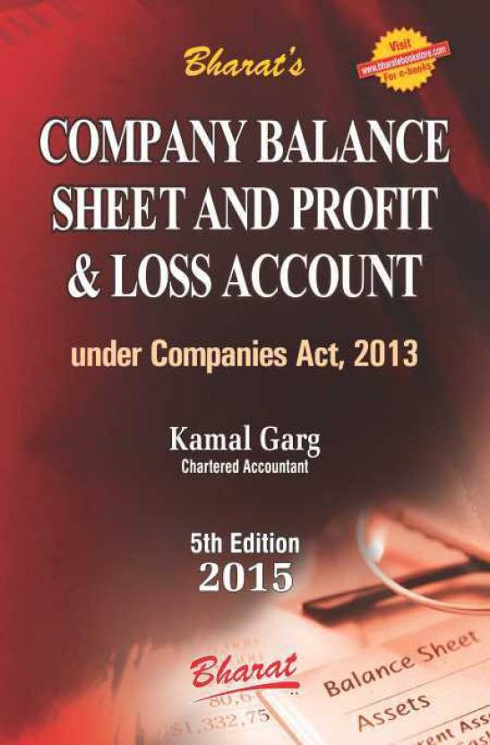 company balance sheet and profit loss account buy company balance