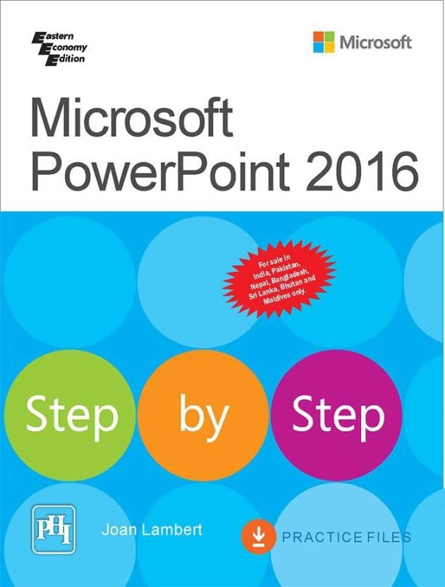 microsoft powerpoint 2016 step by step buy microsoft powerpoint