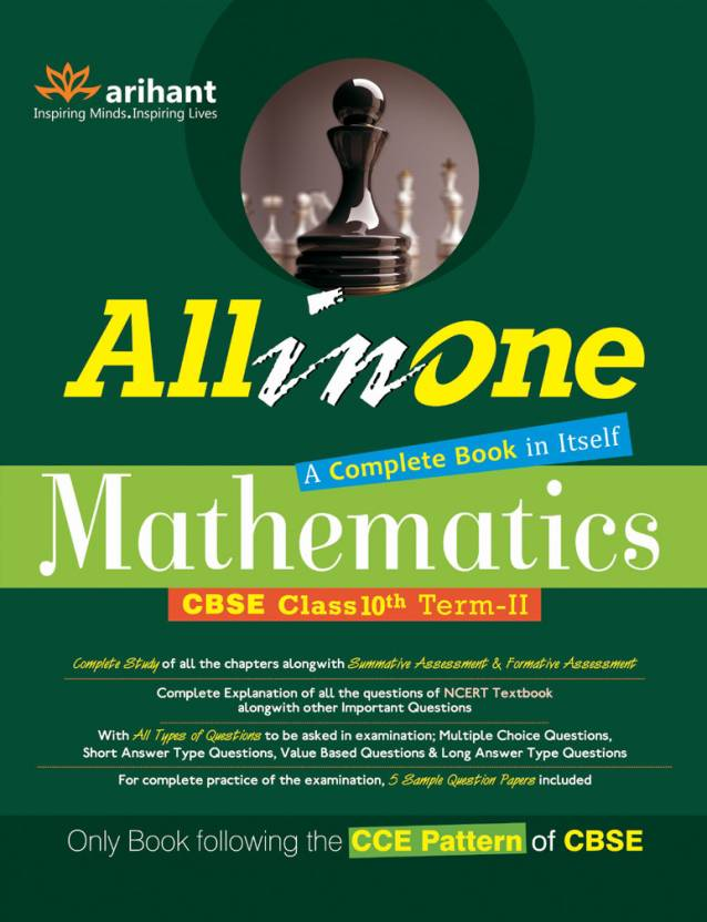 All in One Mathematics CBSE Class 10th Term - II : Only Book