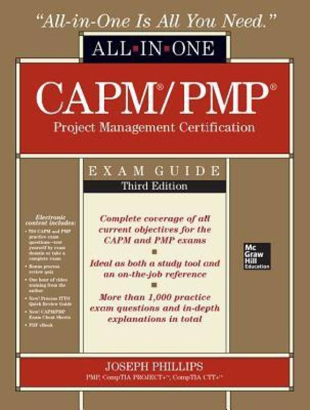 Capmpmp Project Management Certification All In One Exam Gu Buy