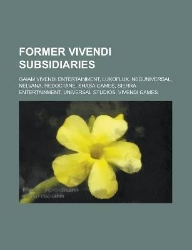 FORMER VIVENDI SUBSIDIARIES: NELVANA: Buy FORMER VIVENDI