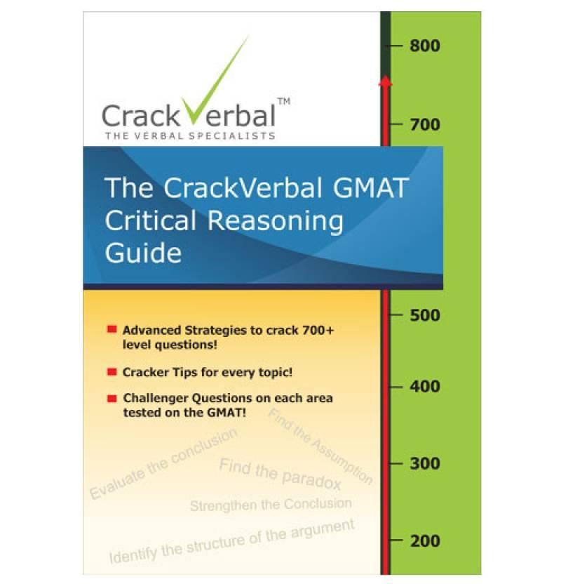 GMAT Critical Reasoning Guide: Buy GMAT Critical Reasoning