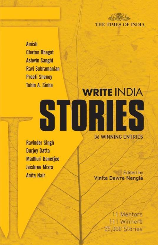 WRITE INDIA STORIES - 36 WINNING ENTRIES