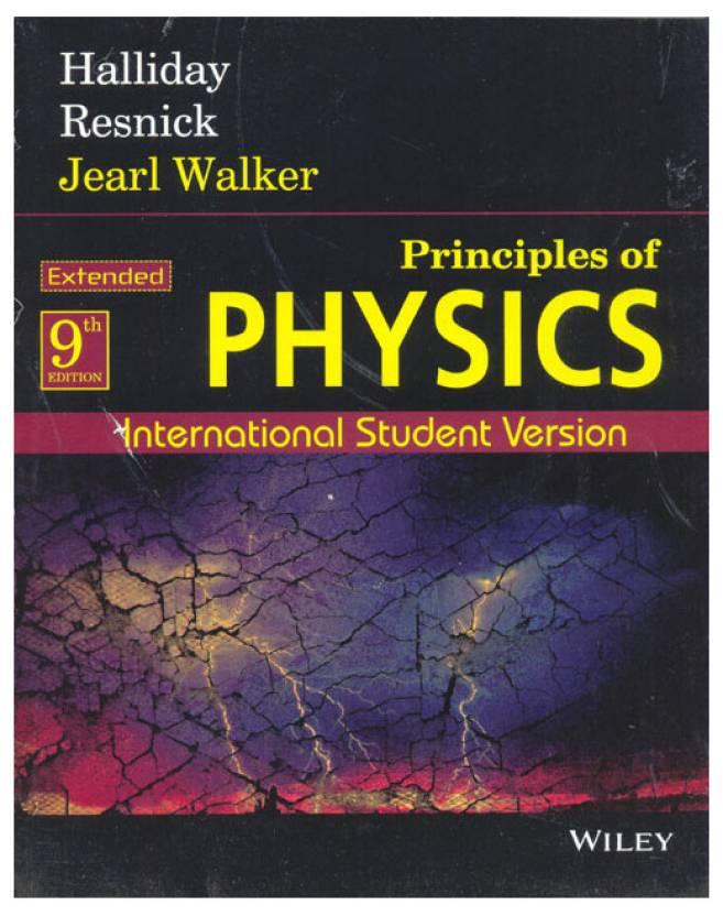 Principles Of Physics 9 Edition