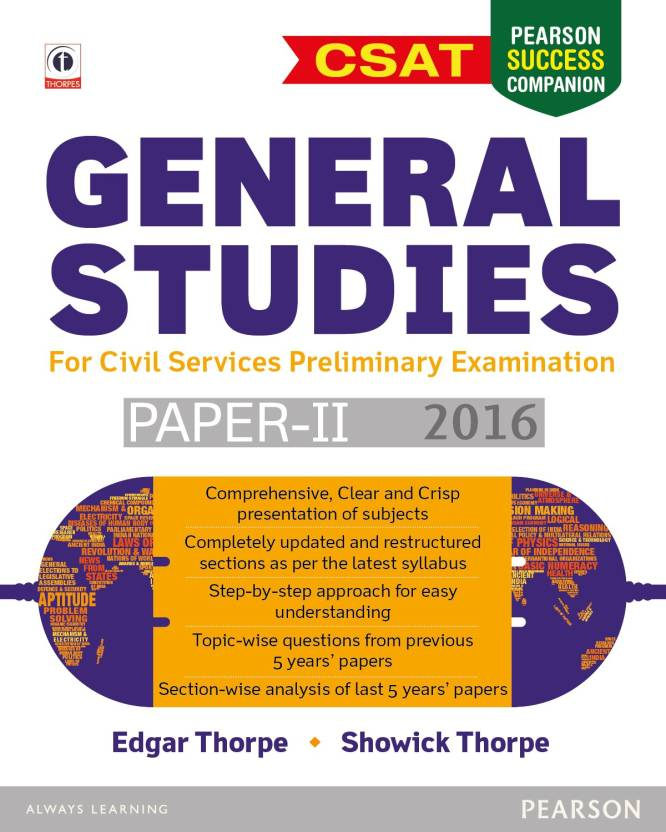 General Studies Paper 2 for Civil Services Preliminary Examination 2016 2015 Edition