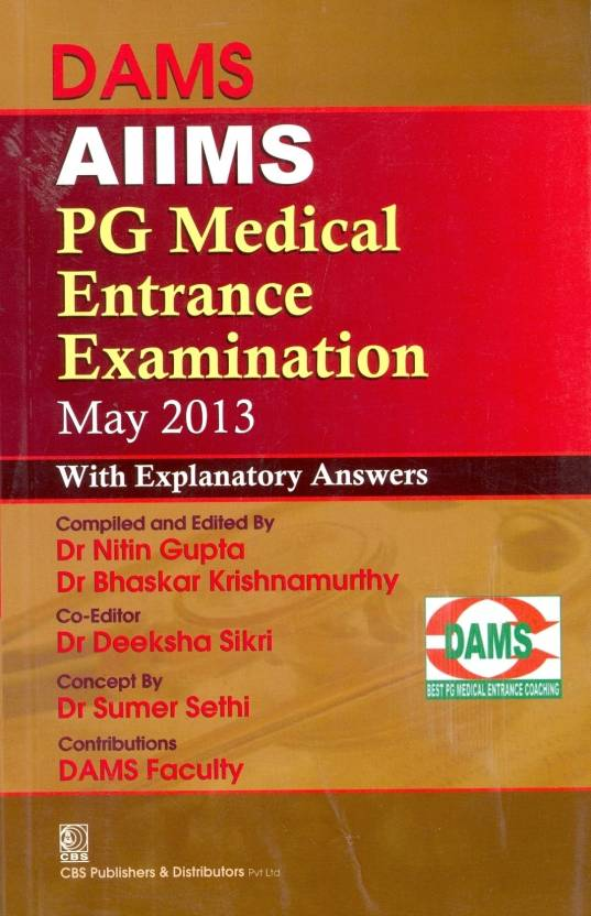 DAMS AIIMS PG Medical Entrance Examination