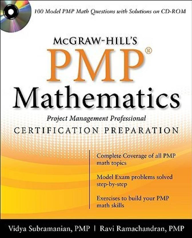 Mcgraw Hills Pmp Certification Mathematics With Cd Rom Papcdr