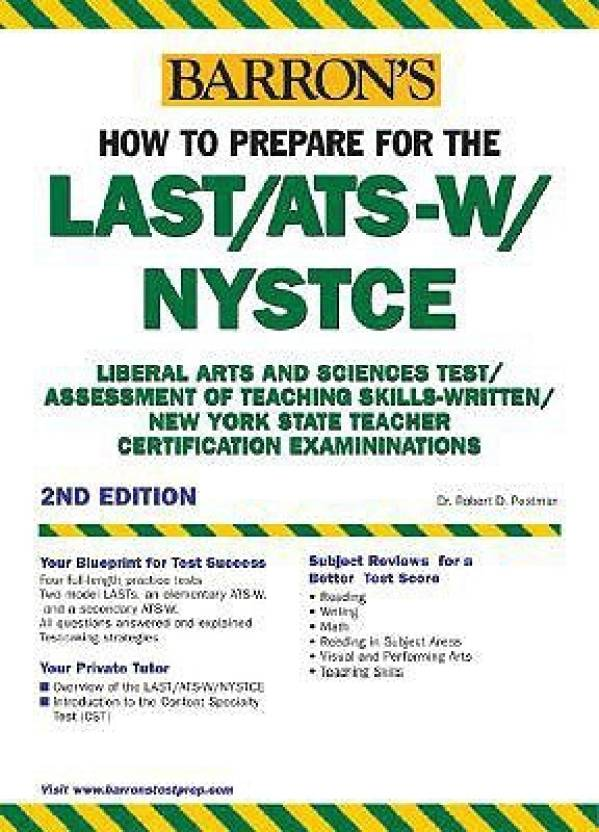 Barrons How To Prepare For The Lastats W Nystce Liberal Arts And