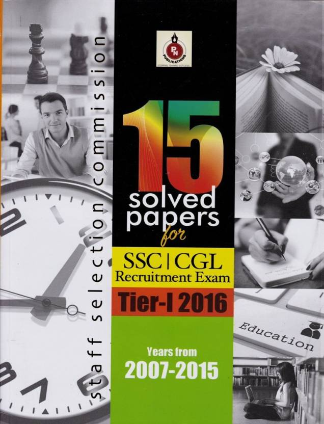 SSC 15 SOLVED PAPER TIER-1 2016