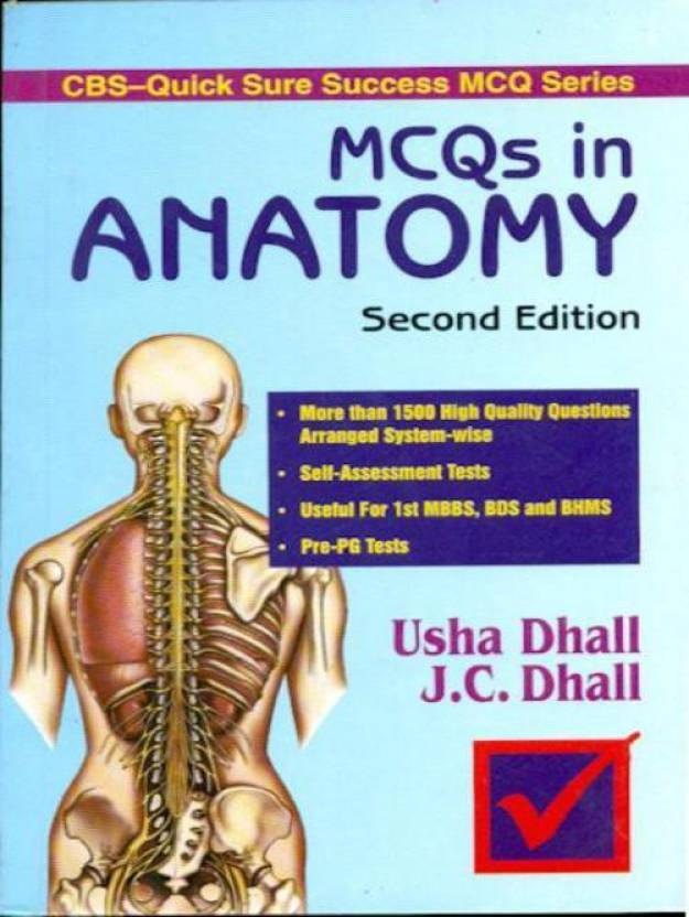 Cbs Quick Sure Success Mcq Series Mcqs In Anatomy 2nd Edition Buy