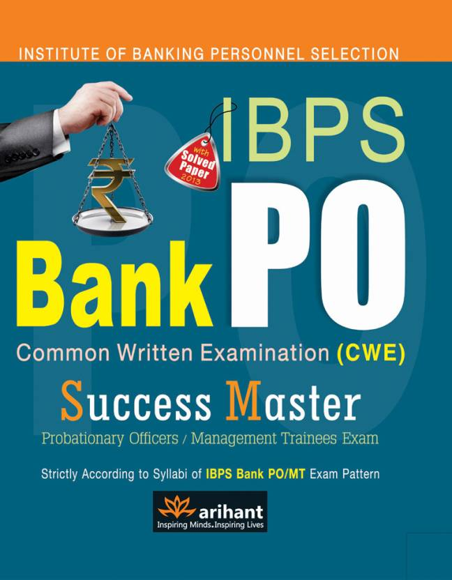 IBPS Bank PO Common Written Exam. Success Master PB 5th  Edition