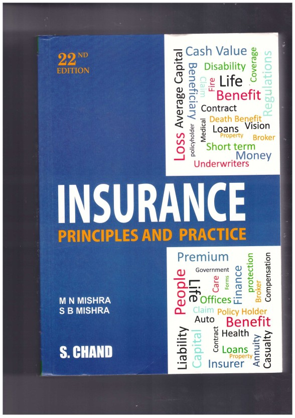 INSURANCE PRINCIPLES AND PRACTICE BY M.N.MISHRA PDF