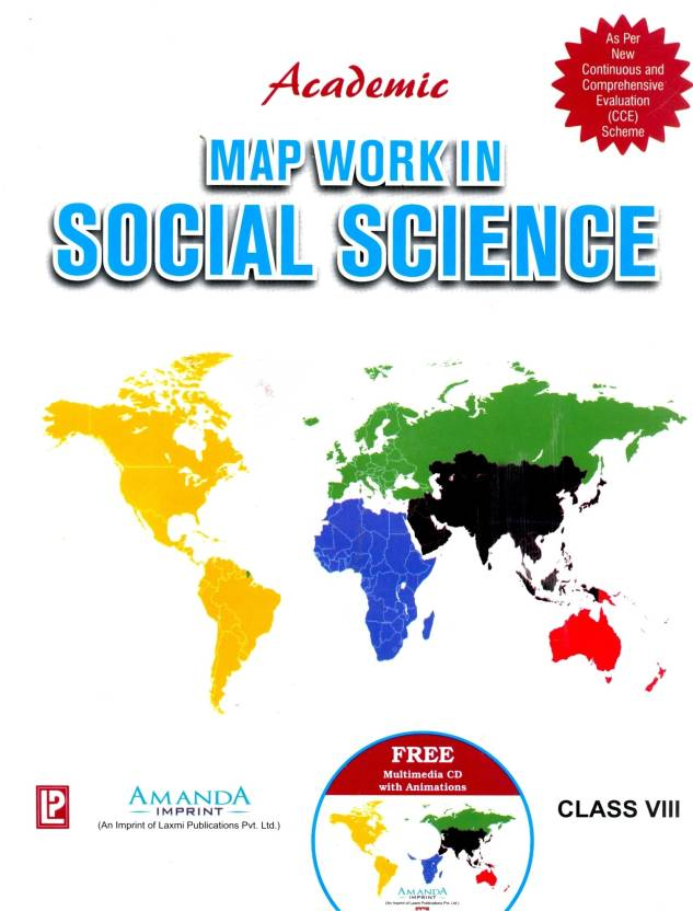 Map Work in Social Science (Class 8) New Edition: Buy Map
