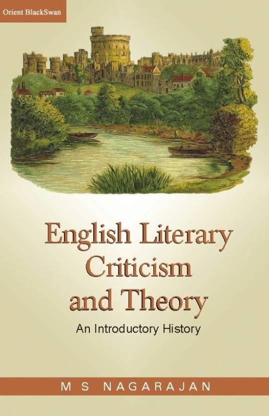 English Literary Criticism And Theory PB New title Edition