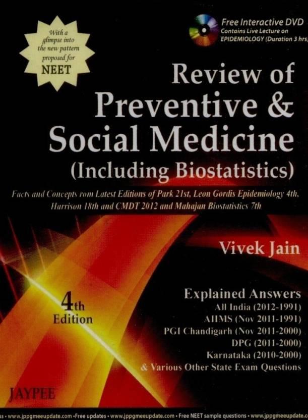 REVIEW OF PREVENTIVE & SOCIAL MEDICINE (INCLUDING BIOSTATISTICS