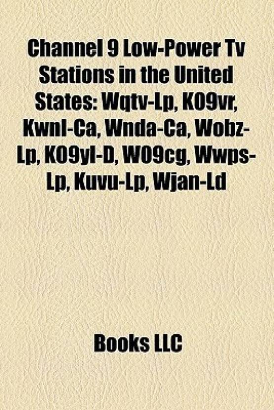 Channel 9 Low-Power TV Stations in the United States: Wqtv