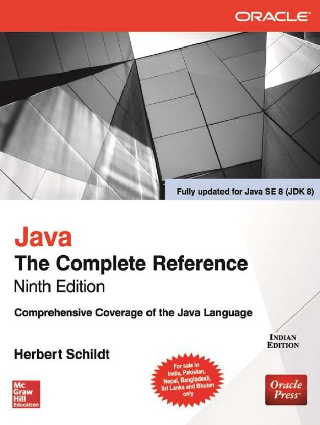 Java: The Complete Reference, Tenth Edition book pdf