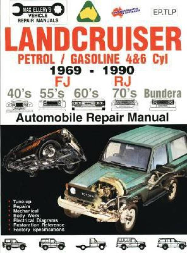 Rj Auto Repair >> Landcruiser Petrol Gasoline 4 6 Cyl 1969 90 Auto Repair