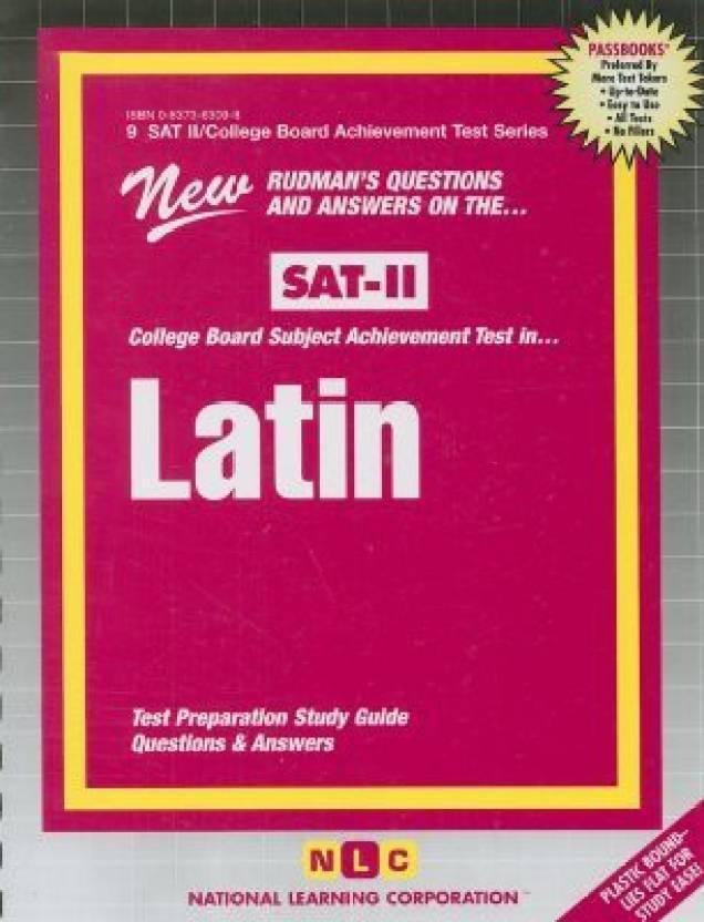 Latin Satin (SAT II/College Board Achievement Test Series