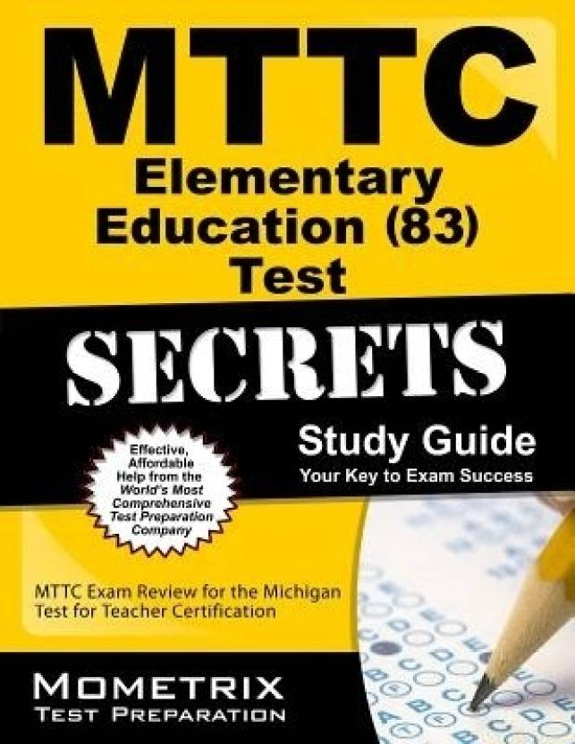 Mttc Elementary Education Test Secrets Mttc Exam Review For The