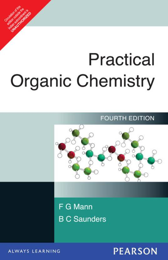PRACTICAL ORGANIC CHEMISTRY 4 ED 4th Edition