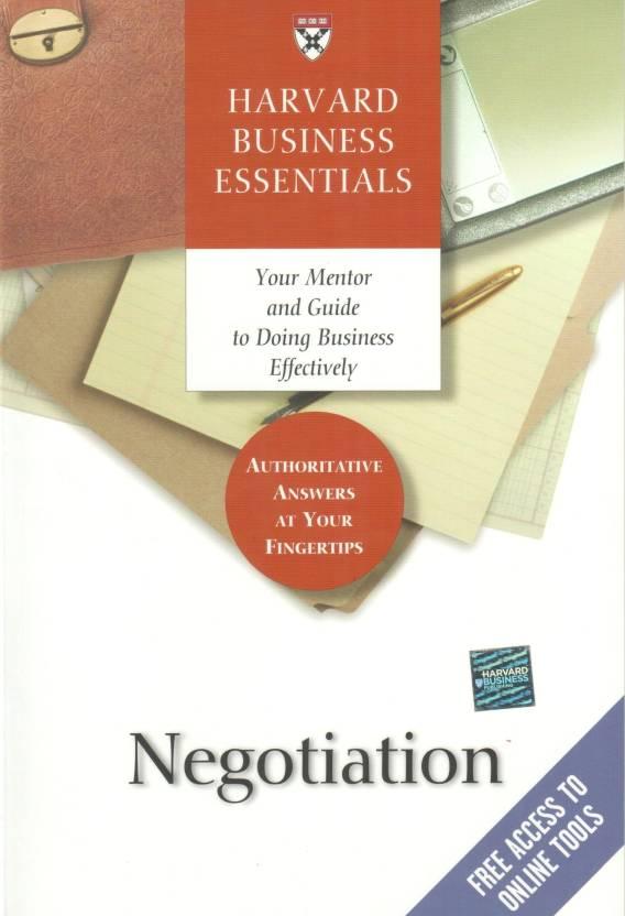 Negotiation 01 Edition