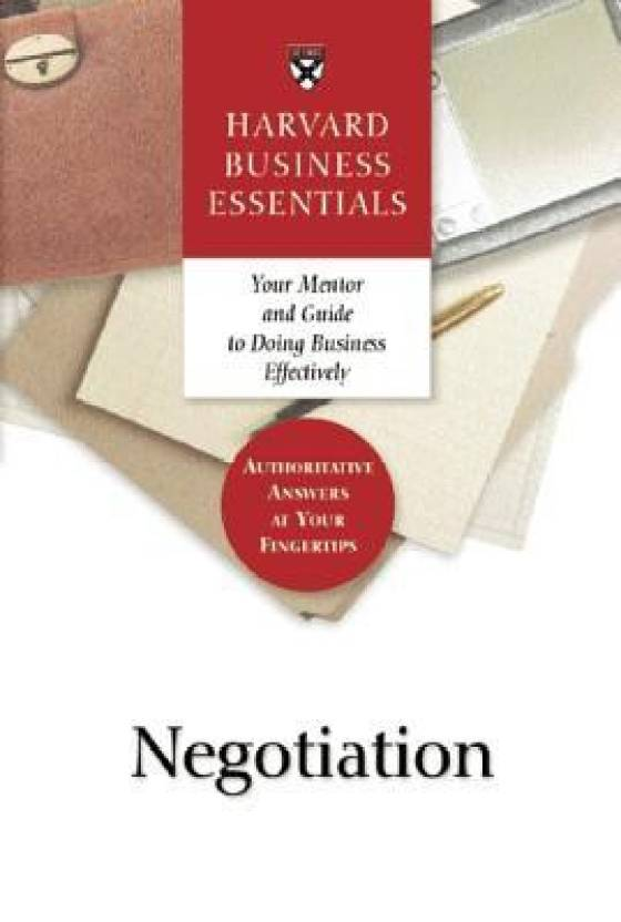 Negotiation 01 Edition