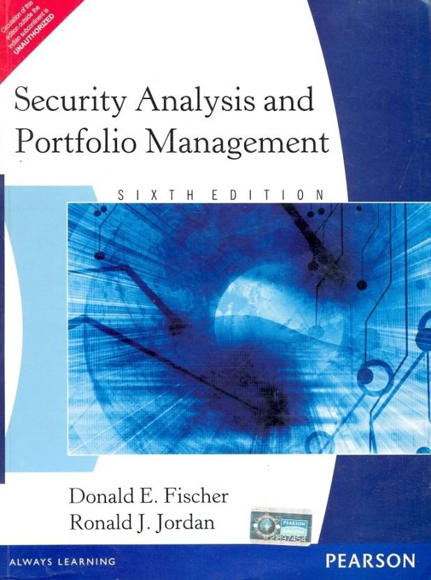 Security Analysis and Portfolio Management 6 Edition 6th  Edition