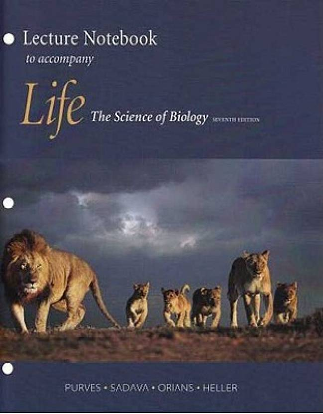 Life: The Science of Biology Lecture Notebook
