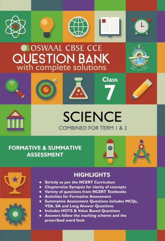 Oswaal CBSE CCE Question Banks Science For Class 7 English Paperback Panel Of Experts