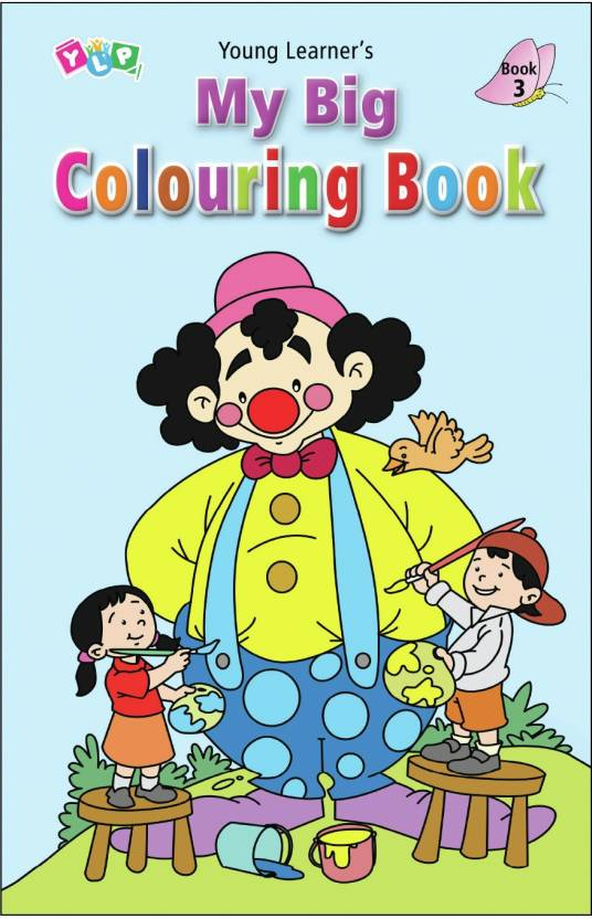 My Big Colouring Book (3) 1st Edition - Buy My Big Colouring Book (3 ...