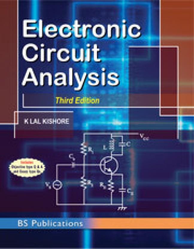 electronic circuit analysis, 3rd ed , lal kishore k 3rd editionelectronic circuit analysis, 3rd ed , lal kishore k 3rd edition (english, paperback, k lal kishore)