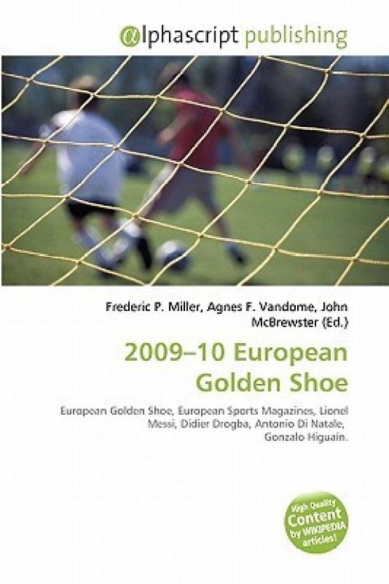2e517eaca812 2009-10 European Golden Shoe  Buy 2009-10 European Golden Shoe by ...