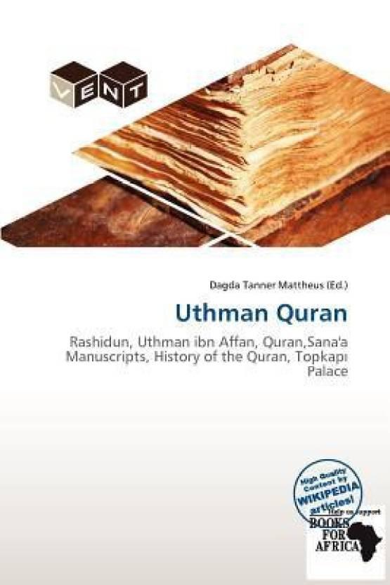 Uthman Quran: Buy Uthman Quran by Dagda Tanner Mattheus at
