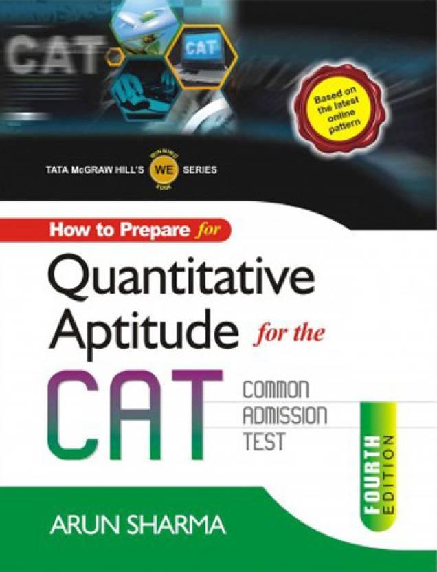 How to Prepare for Quantitative Aptitude for the CAT Common Admission Test 4th Edition