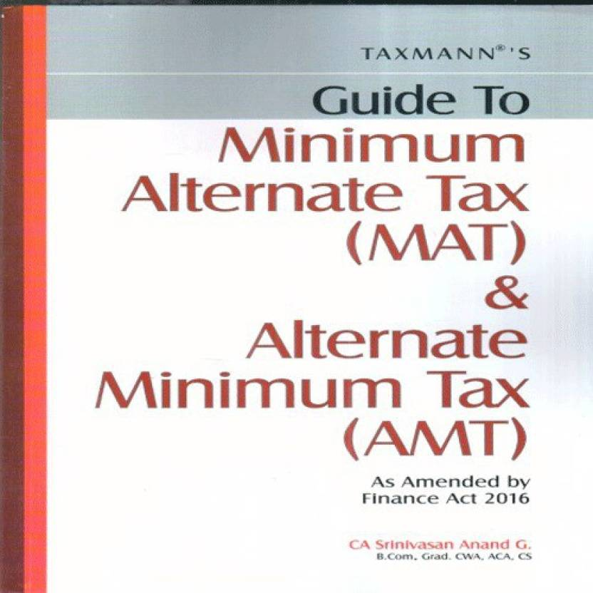 MAT & Alternate Minimum Tax AMT
