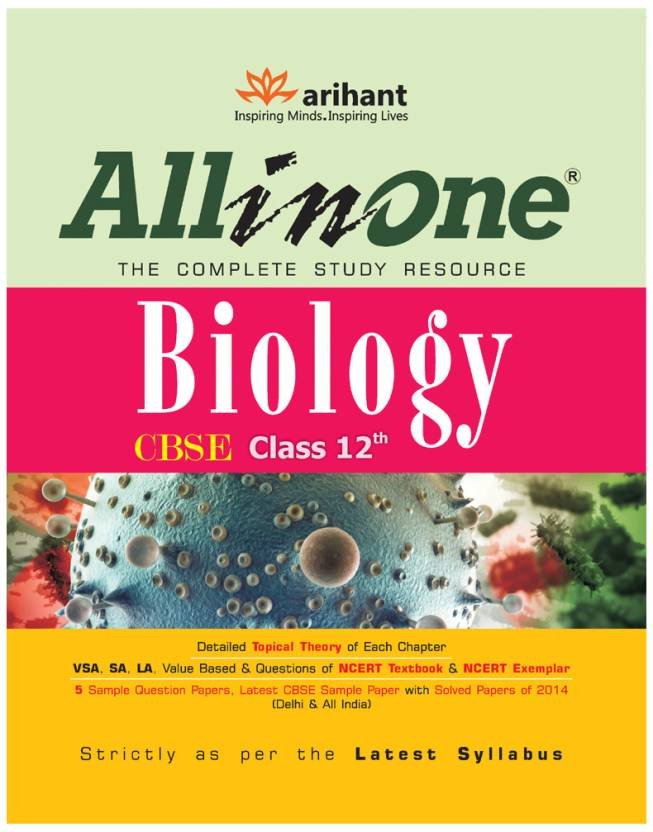 Cbse all in one biology class 12 2nd edition buy cbse all cbse all in one biology class 12 2nd edition malvernweather Image collections