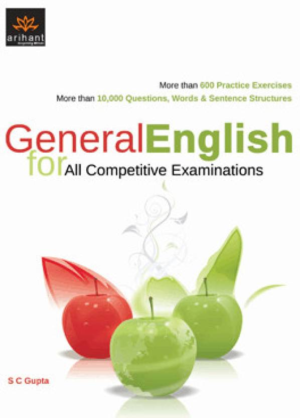 General English for All Competitive Examinations 1st Edition