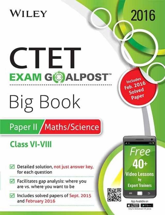 Wiley's CTET, Exam Goalpost, Big Book, Paper II, Maths