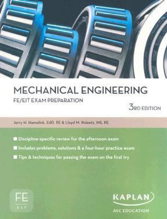 Mechanical Engineering FE/EIT Exam Prep (FE/EIT Exam Preparation