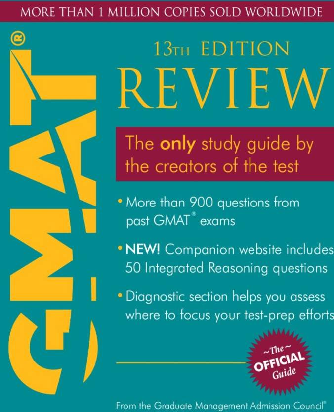 The Official Guide for GMAT Review (With CD ROM) 13th Edition