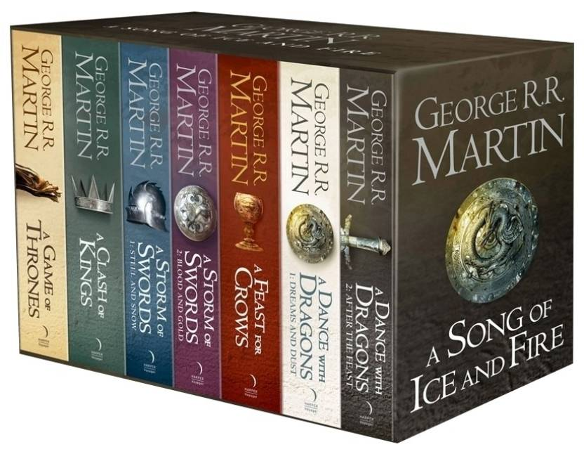 A GAME OF THRONES: THE STORY CONTINUES: 7 Book Boxset