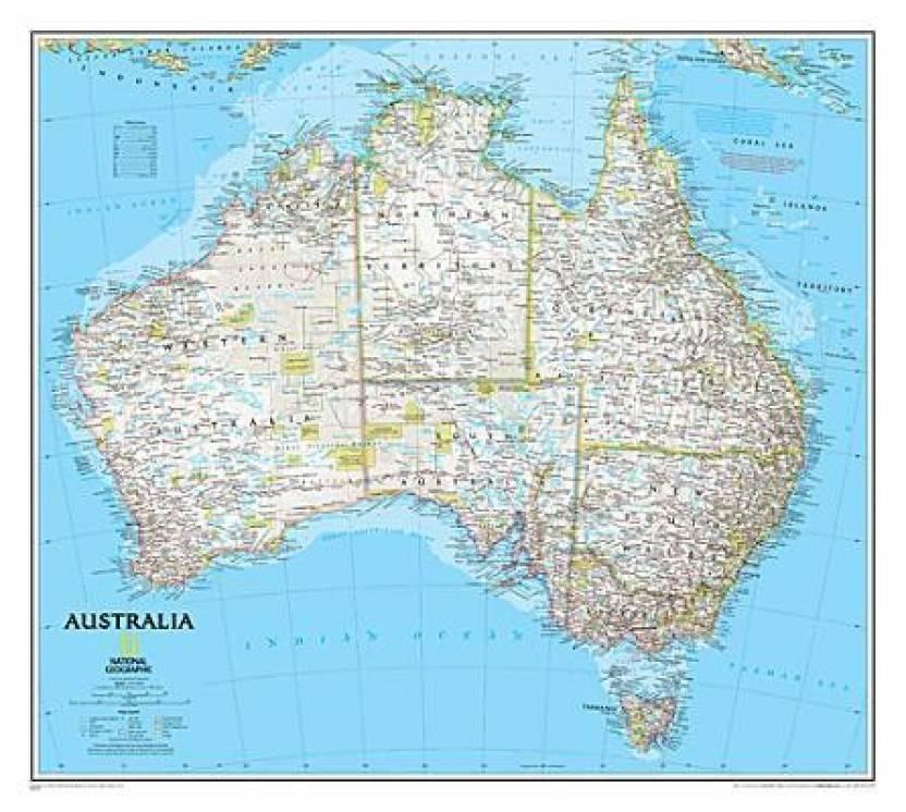 Australia India Map.Australia Political Map Pp Ngc620002 Buy Australia Political Map