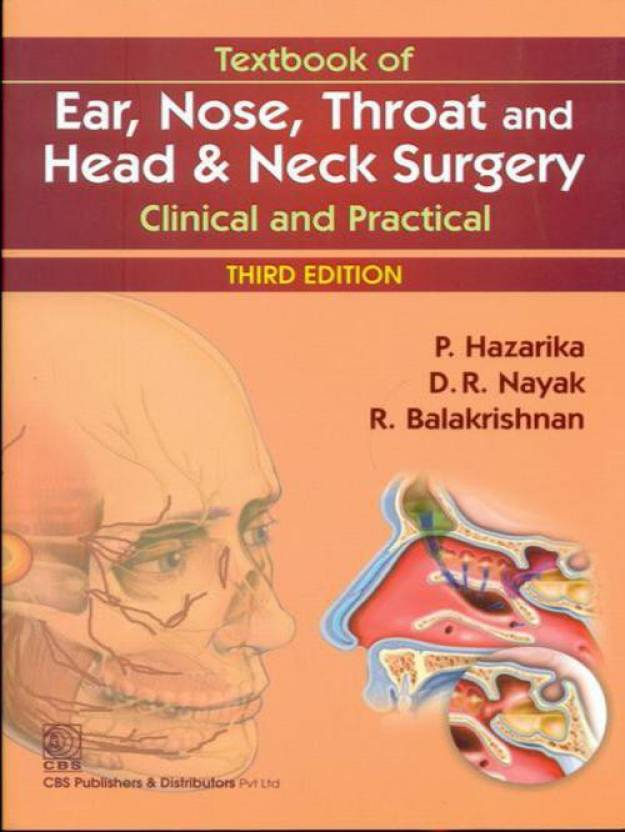 Textbook Of Ear Nose Throat And Head Neck Surgery Clinical