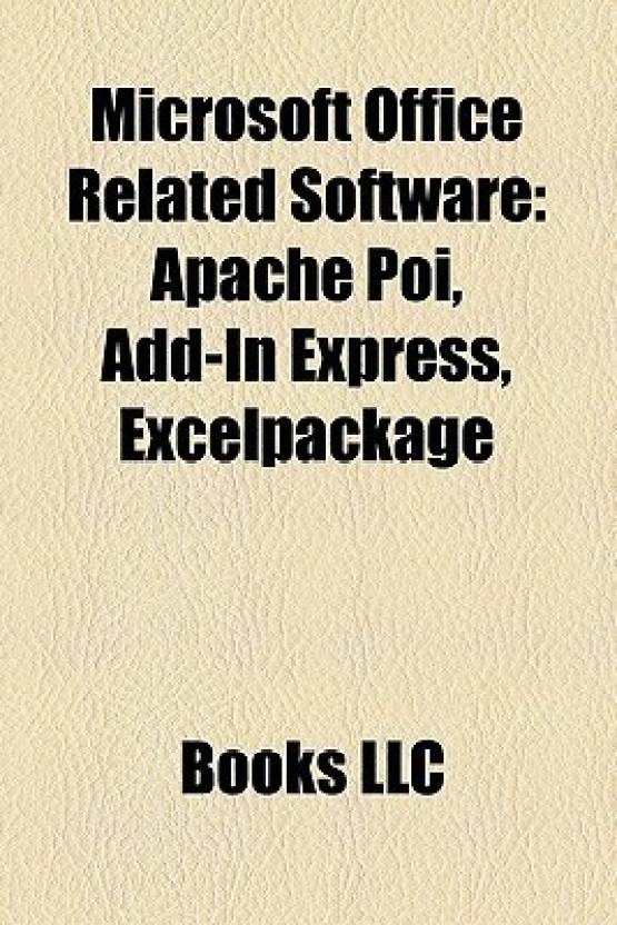 Microsoft Office Related Software: Apache Poi, Add-In