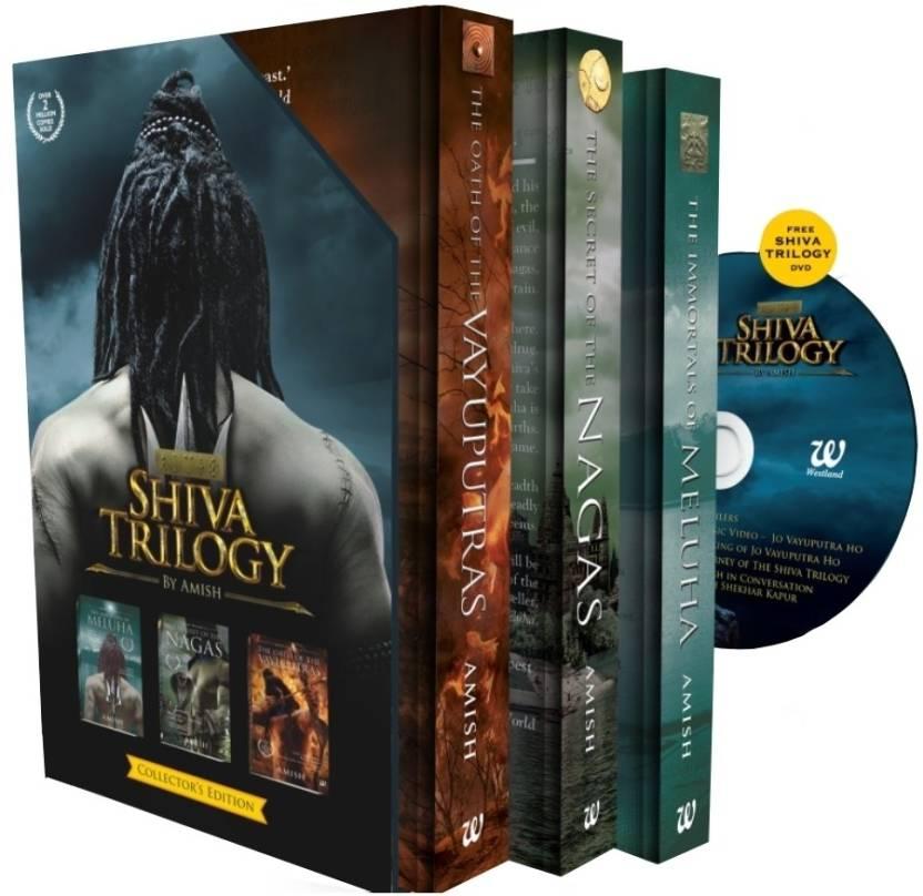 Shiva Trilogy with DVD price comparison at Flipkart, Amazon, Crossword, Uread, Bookadda, Landmark, Homeshop18