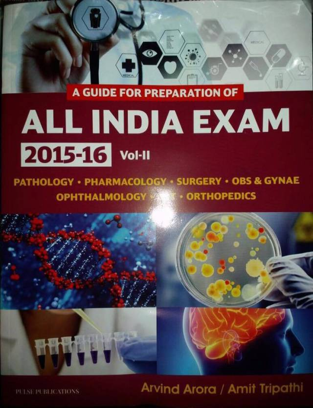 A Guide for Preparation of ALL INDIA EXAM, 2015-16, Vol- II