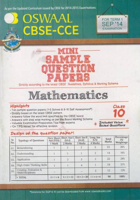 Class 4 Past Papers Term 1